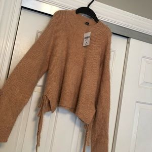 NWT forever 21 fuzzy sweater
